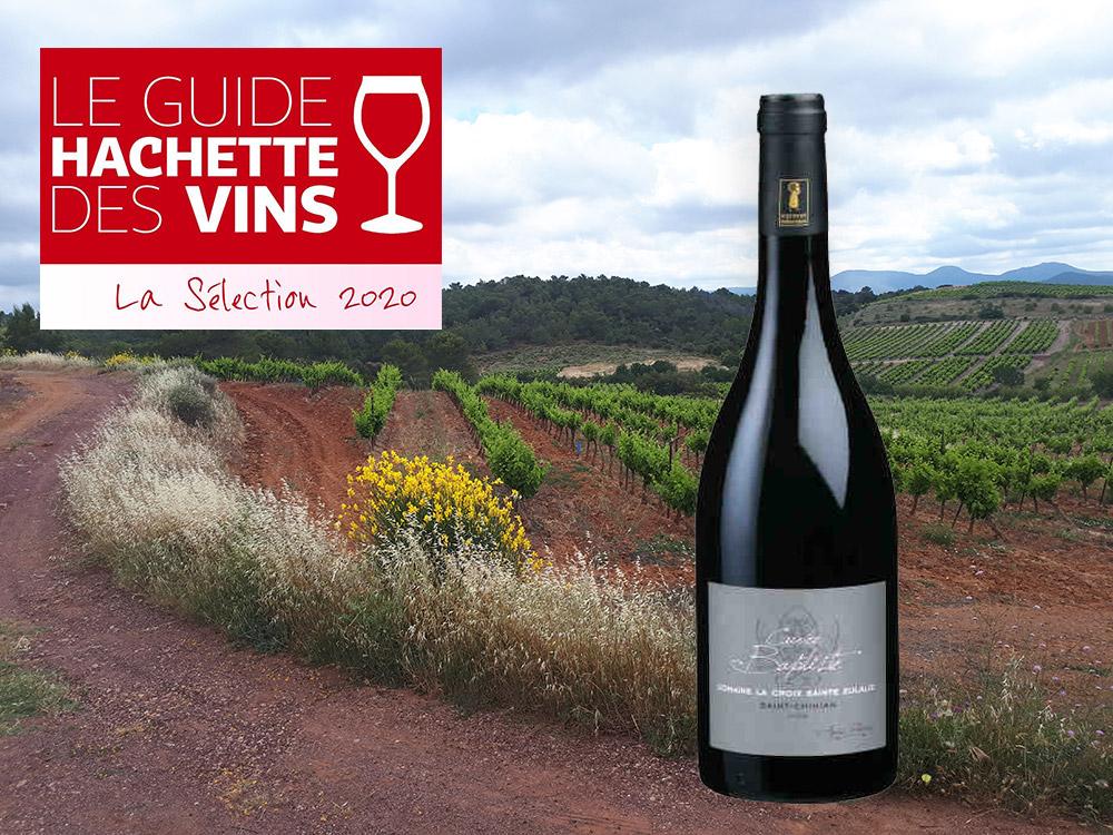 vin rouge saint chinian hachette 2020