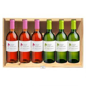 coffret vin rose et blanc