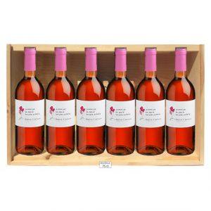 caisse 6 bouteilles rosé