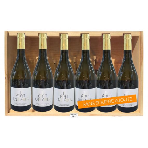 vin blanc sans soufre