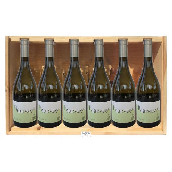 lot vin blanc roussane